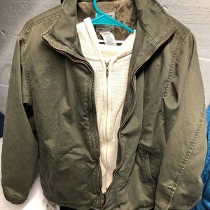 Old Navy Classic light Army Style Coat